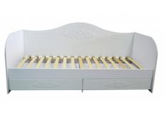 Кровать-тахта белая