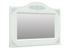 Зеркало горизонтальное Анжелика цвет белый