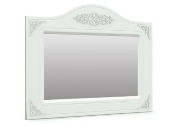 Зеркало горизонтальное Анжелика цвет белый - Фото №1