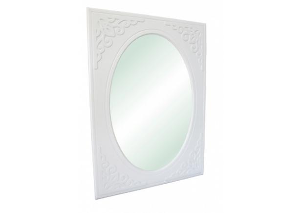 Зеркало вертикальное Анжелика цвет белый - Фото №2