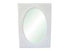 Зеркало вертикальное Анжелика цвет белый