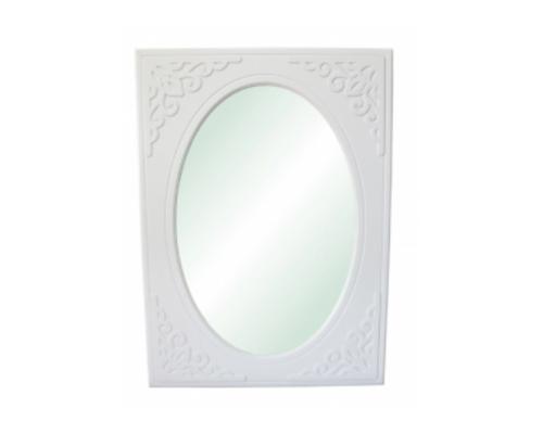 Зеркало вертикальное Анжелика цвет белый - Фото №1
