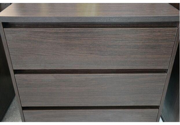 Комод Лайт 3 ящика цвет венге - Фото №2