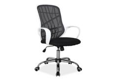 Кресло офисное Dexter  Signal черный с белым