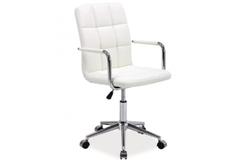 Кресло Q-022 Signal экокожа белая