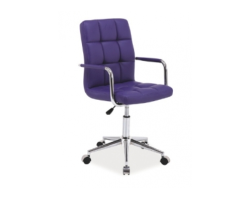 Кресло Q-022 Signal экокожа фиолетовая - Фото №1