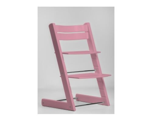 Детский растущий стул цвет розовый pink - Фото №1