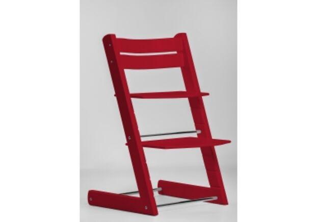 Детский растущий стул цвет красный red - Фото №1