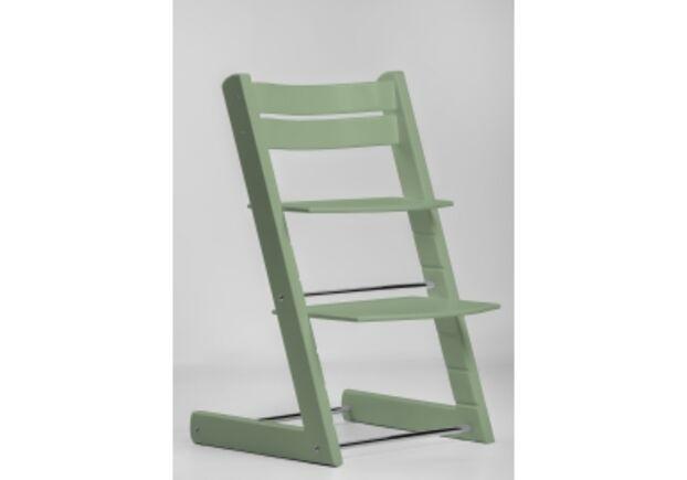 Детский растущий стул цвет зеленый мох moss green - Фото №1