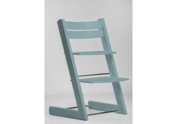 Детский растущий стул цвет голубая вода aqua blue - Фото №1