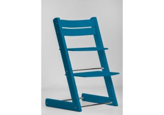 Детский растущий стул цвет синий blue - Фото №1