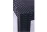 Стол Urano 140х80 пластик под ротанг антрацит - Фото №3