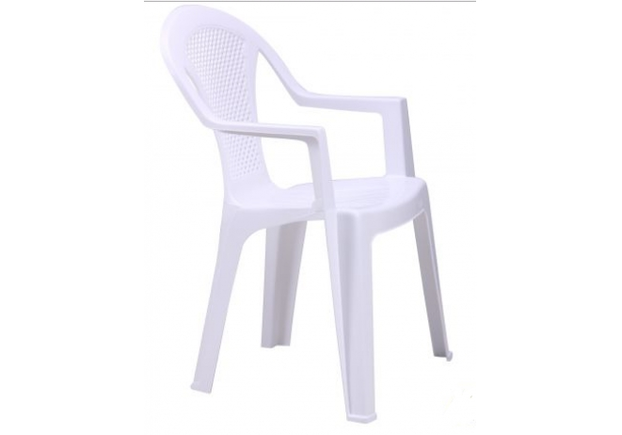 Стул Ischia пластик белый 01 - Фото №2