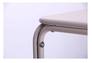 Стол Бурбонне hy-t123 сталь сетка pm-019 светло серый 7502 - Фото №6