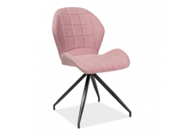 Кресло Hals II Signal розовое/каркас металлический - Фото №1