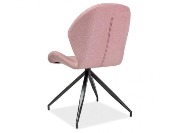 Кресло Hals II Signal розовое/каркас металлический - Фото №2