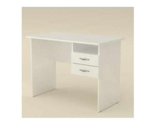 Стол офисный 1000*545*h735 мм белый - Фото №1