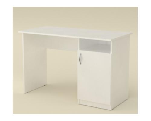 Стол офисный 1150*550*h736 мм белый - Фото №1