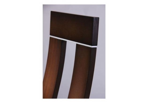Стул обеденный Лестер СВ-2421YBH орех темный/ткань коричневая - Фото №2