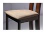 Стул обеденный Лестер СВ-2421YBH орех темный/ткань коричневая - Фото №6