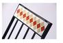 Стул Арманьяк складной сталь сетка тканная черный/мозаика - Фото №4