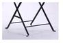 Стул Арманьяк складной сталь сетка тканная черный/мозаика - Фото №8