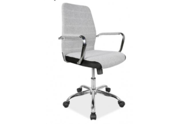Кресло офисное Q-M3 Signal серый - Фото №1