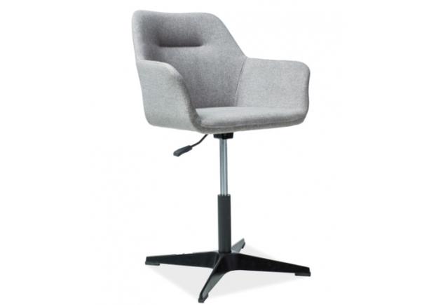 Кресло Signal Kubo серый/каркас металлический черный - Фото №2