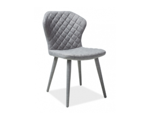 Кресло Logan Signal серый/ножки металлические - Фото №1