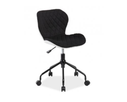 Кресло вращающееся Rino Signal черный с белым - Фото №1