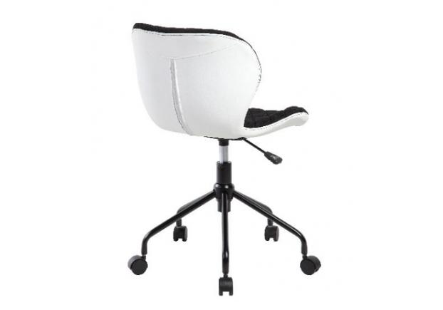 Кресло вращающееся Rino Signal черный с белым - Фото №2