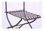 Стул Ренн складной/сталь сетка тканная какао - Фото №8