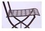 Стул Ренн складной/сталь сетка тканная какао - Фото №7