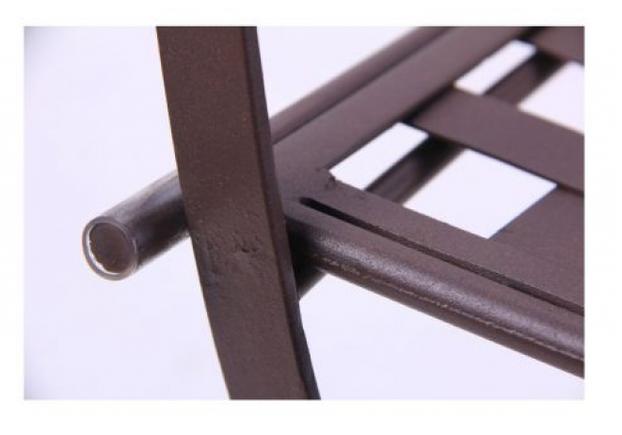 Стул Ренн складной/сталь сетка тканная какао - Фото №2