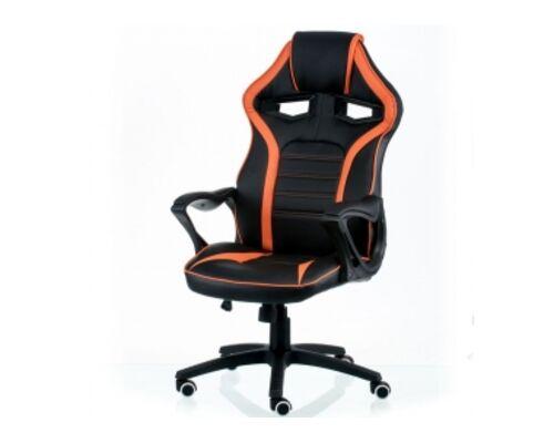Кресло офисное Special4You Game black/orange - Фото №1