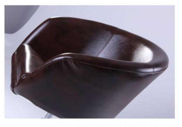 Кресло Дамкар Хром Мадрас ДК браун  - Фото №2