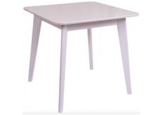 Фото Стол обеденный квадратный Модерн шпон 80*80*h77 см белый