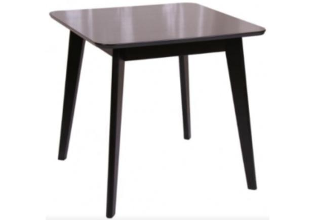 Стол обеденный квадратный Модерн шпон 80*80*h77 см венге - Фото №1