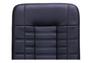 Кресло Парис хром/кожа Люкс комбинированная черная - Фото №3