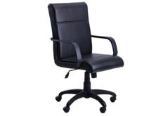 Кресло офисное Фаворит пластик кожзам Неаполь