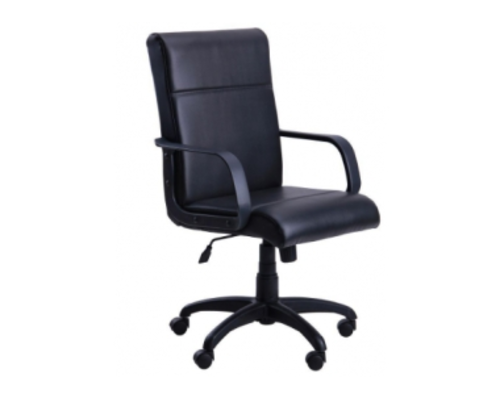 Кресло офисное Фаворит пластик кожзам Неаполь  - Фото №1