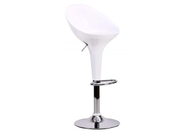 Барный стул Peony белый - Фото №2