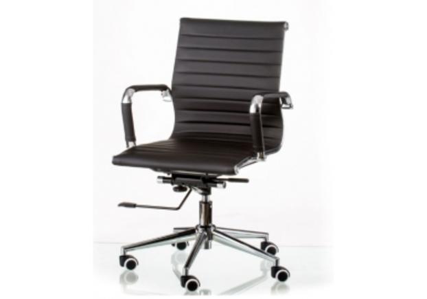 Кресло офисное Special4You Solano 5 artleather black  - Фото №1