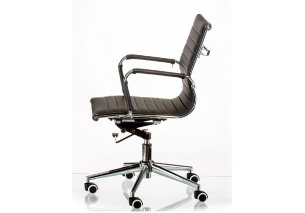 Кресло офисное Special4You Solano 5 artleather black  - Фото №2
