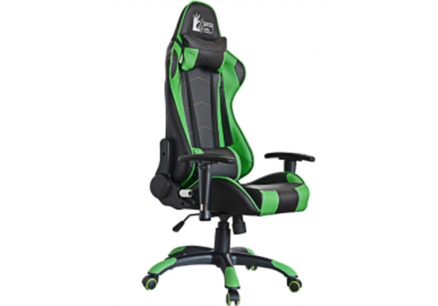 Кресло офисное Special4You ExtremeRace black/green - Фото №1