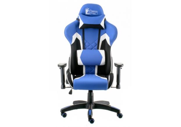 Кресло офисное Special4You ExtremeRace 3 black/blue - Фото №2