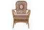 Кресло CRUZO Ацтека натуральный ротанг светло коричневый  - Фото №3