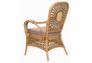 Кресло CRUZO Ацтека натуральный ротанг светло коричневый  - Фото №4
