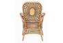 Кресло CRUZO Ацтека натуральный ротанг светло коричневый  - Фото №7