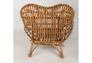 Кресло CRUZO Мадонна натуральный ротанг медовый kr0002 - Фото №8
